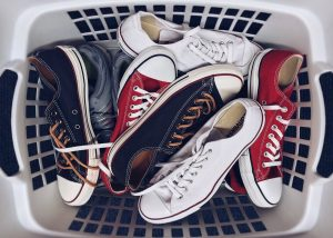 Shoes are not that problematic to store, especially sneakers!