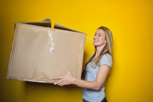 A simple cardboard box will almost never do the trick. Get better boxes!