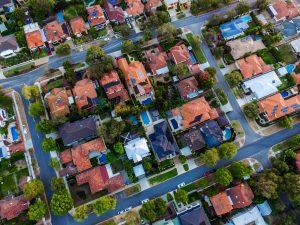 top view of the best neighborhoods in Pinellas
