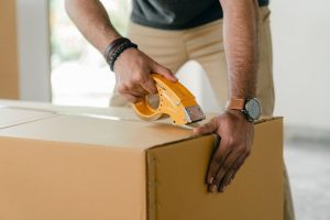 If you hire packing services, they'll have the packing supplies ready.