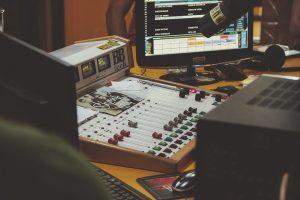 Music studio gear.