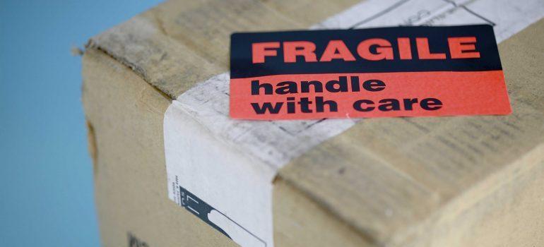 Label Fragile
