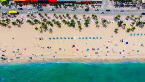 Beach in Florida.