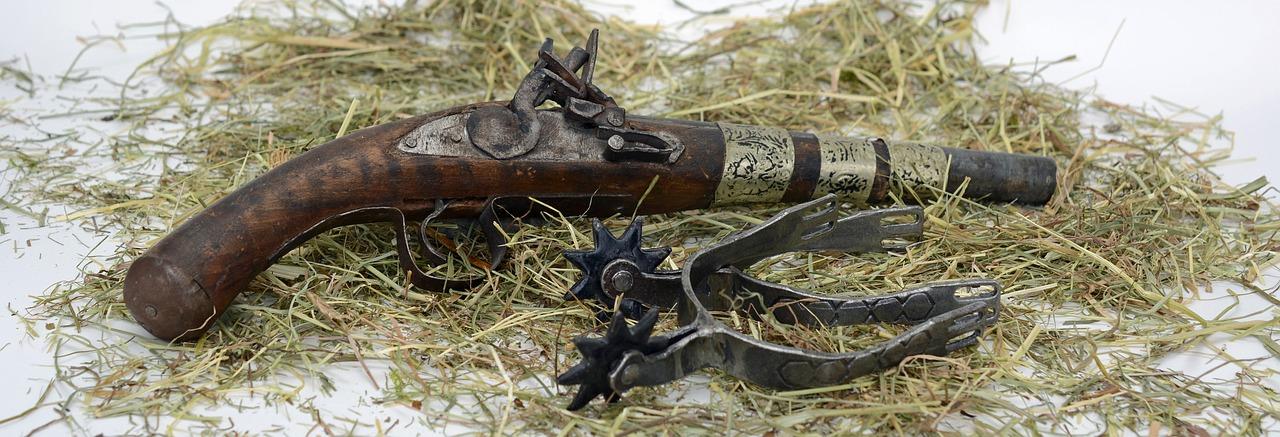 Antique pistol