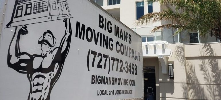 Big Mans Moving truck