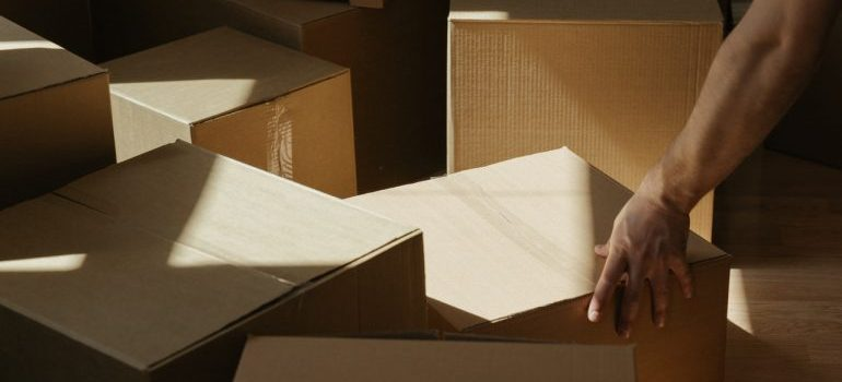 boxes - Planning a move to a colder climate