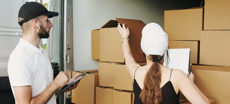 Hire experienced movers to help you with the move.