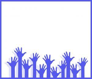 donation chidren hand