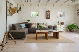 create an inventory list - a living room