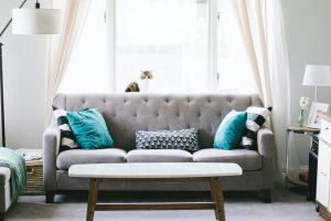 Furniture inside a home