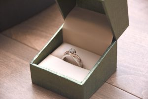 A ring inside a box