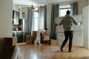 Moving paintings