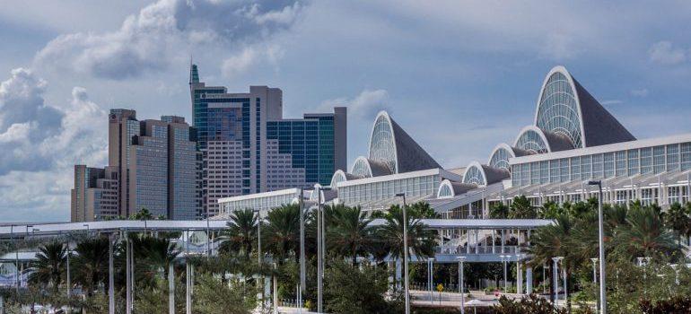 The city of Orlando