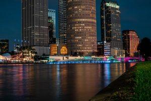 Tampa during night